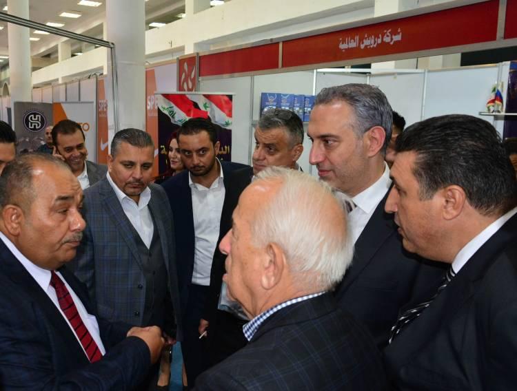 بحضور أكثر من 100 شركة ورجال أعمال من عدة دول عربية افتتاح  معرض سيلا الدولي التصديري للأحذية والمنتجات الجلدية