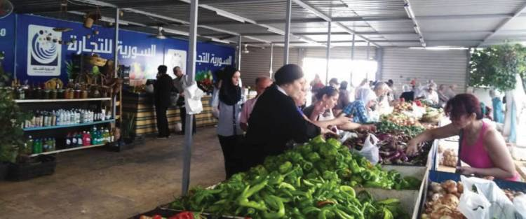 وزير التموين يعترف: أسعار الخضر والفواكه في صالات «السورية» أعلى من السوق وليست من النوعية الجيدة