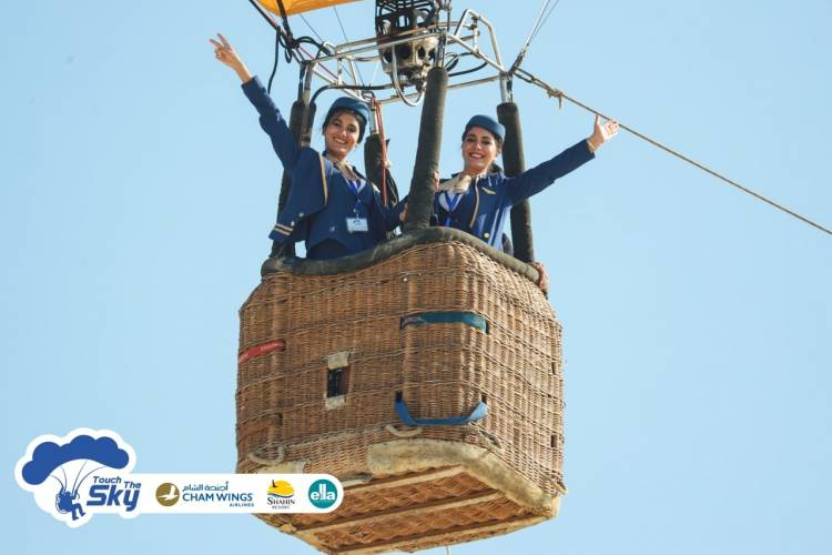 أجنحة الشام للطيران ترعى مهرجان الطيران الشراعي الثاني بطرطوس