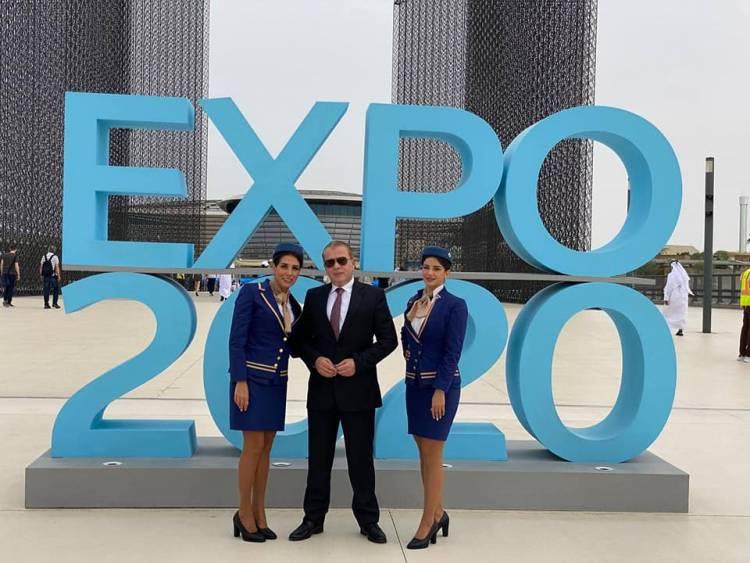 أجنحة الشام للطيران ناقل رسمي للحدث الأضخم بالشرق الأوسط.. اكسبو - دبي ٢٠٢٠